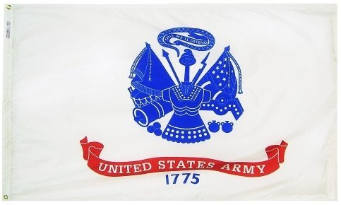 www.usflags.com 4x6' US Army Nylon Flag - All Weather, Durable, Outdoor Nylon Flag -  FLAGS UNLIMITED