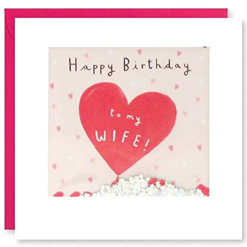 James Ellis - Vrouw Ballon Verjaardag Shakies Card - PT2882