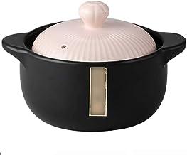 Praktisch Casserole gerechten braadpan gerechten kleine keramische huishoudelijke steelpan, hittebestendige soep braadpan,...