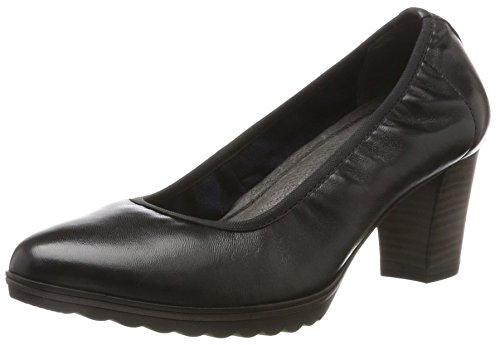 Tamaris Damen 22417 Pumps, Schwarz (Black Leather), 38 EU
