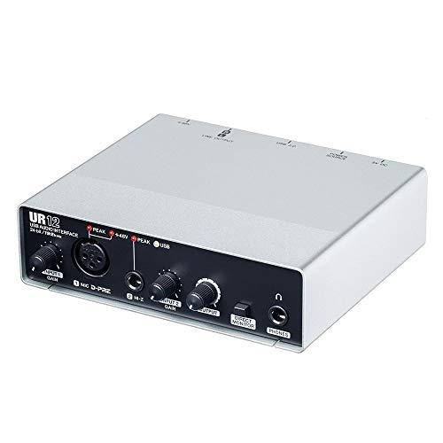 MGS Soundkarte Audio Multi-Channel-Schnittstelle Professionelle Aufnahme Arranger Dubbing E-Gitarren-Soundkarte USB-Schnittstelle