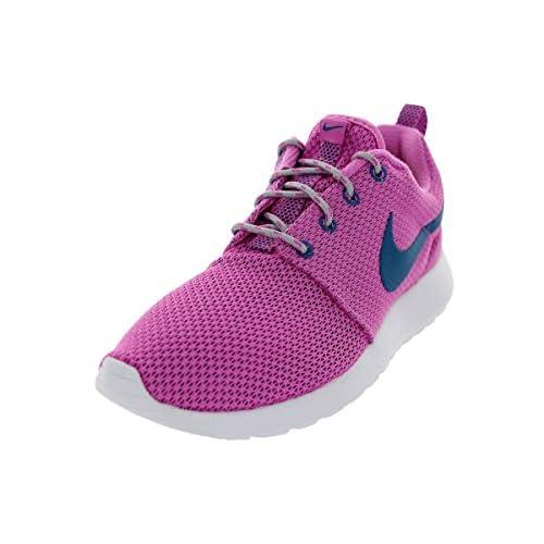 Nike Rosherun Wmns, Scarpe da Ginnastica Basse Donna, Rosa (Pink 511882-502), 36 EU