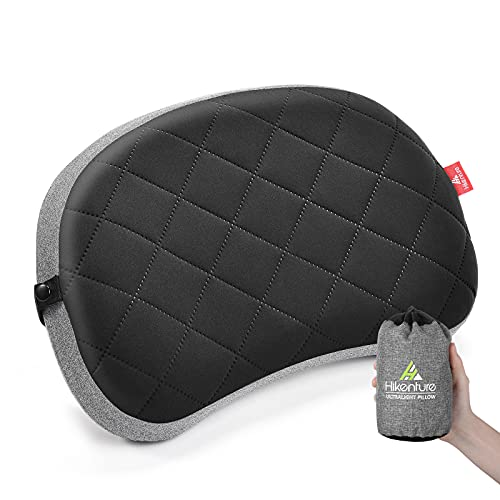 Hikenture Inflatable Camping Pillow, Thicken...