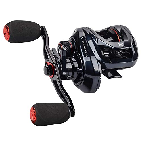 Calamus X2 Baitcasting Fishing ReelsRight Handed Reel72:1 Gear Ratio