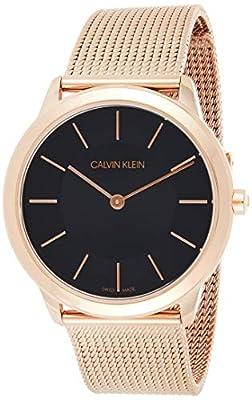 Calvin Klein Reloj Analógico para Mujer de Cuarzo con Correa en Acero Inoxidable K3M2262Y de Calvin Klein