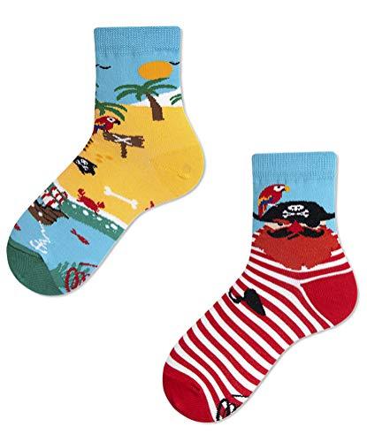 Many Mornings Socken Kinder - Pirate Island Kids (23-26 Kids)