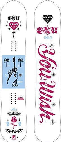 Gnu Glänzendes Snowboard für Damen, Größe 144 cm