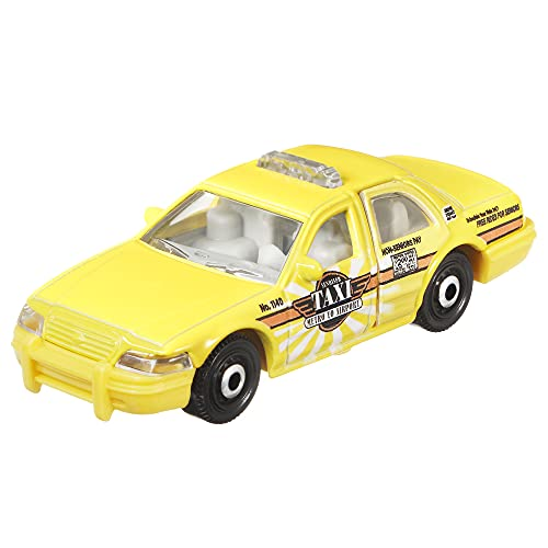 Matchbox 2006 Ford Crown Victoria Taxi (Yellow) 3/20, Moving Parts 2021