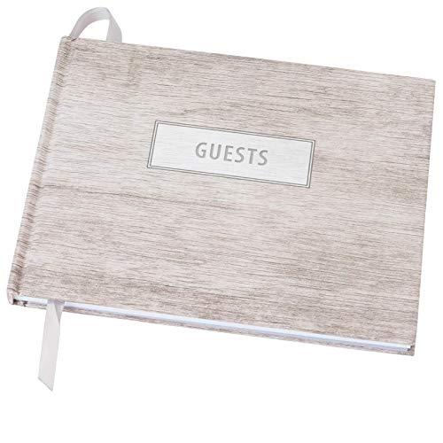 Wedding Guest Book 9'x7' (Grey Wood) - WGB-Gry