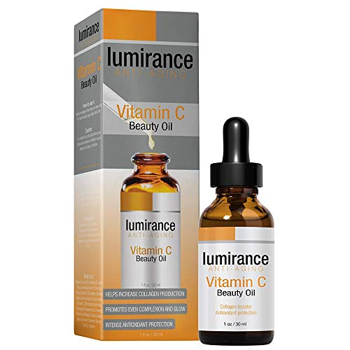Vitamin C Oil for Face, Anti-Aging for All Skin Types by Lumirance Moisturizes for smooth, firm and brighter skin, 1oz bottle.