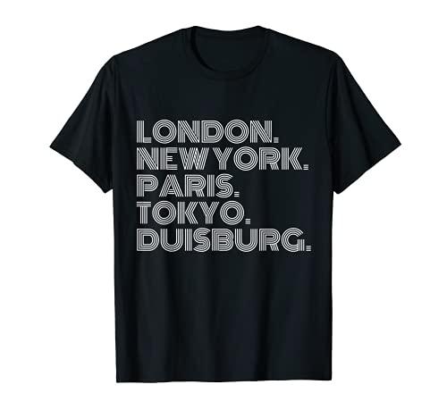 Duisburg Stadt Metropole Heimat Region T-Shirt