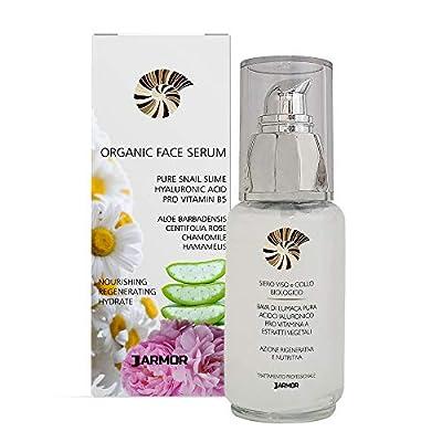 Snail Slime Anti Wrinkle Face Serum | Pure Hyaluronic Acid Aloe Vera Woman And Man 50ml Bio Organic from Advanced Cosmetics Medical Enterprise Italy