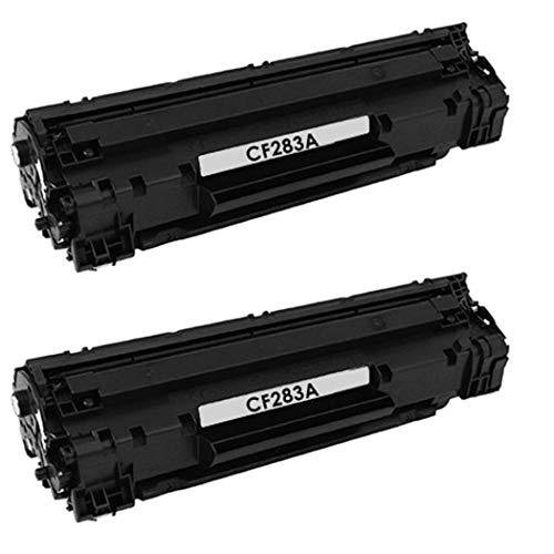 Bramacartuchos - 2 X Cartuchos compatibles Non oem para Hp 83A CF283A de,HP Laserjet Pro MFP M126a / MFP M126nw,