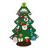 Gaoqi Árbol de Navidad, árbol de Navidad para niños, Adornos navideños, Conjunto, Ventana