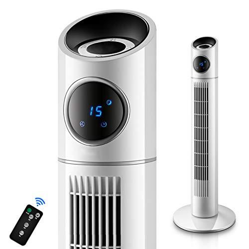 SANSHUIts draagbare zuilventilator, rotorloze geluidloze airconditioning, ventilator, wit