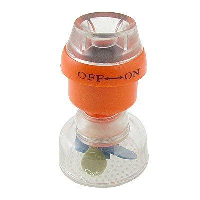 La magnetización de plástico agua del grifo grifo del fregadero filtro de color naranja