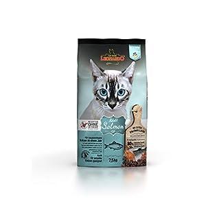Leonardo Adult GF Salmon [7,5kg] Katzenfutter | Getreidefreies Trockenfutter für Katzen | Alleinfuttermittel für… 2