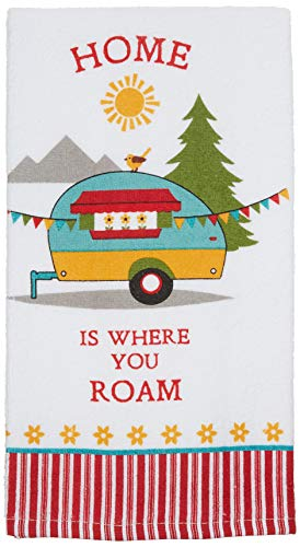 RV Home Is Anyplace I'm With You Terry Towel made our list of camper gifts that make perfect RV gifts which are unique gifts for RV owners
