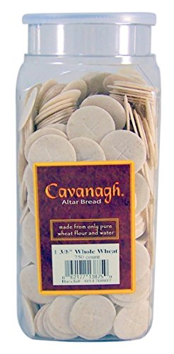 Cavanagh Altar Bread - 1 3/8' Whole Wheat - 750/Container
