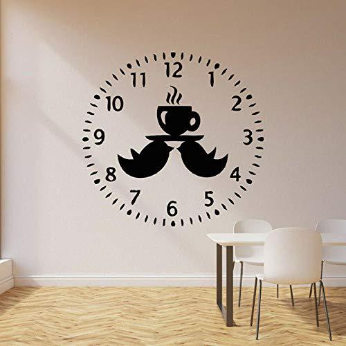 Muurstickers Decal Vinyl Muursticker Vogels Relax Tijd om Thee Keuken Cafe Decor Raamglas Stickers Verwijderbare muurschildering