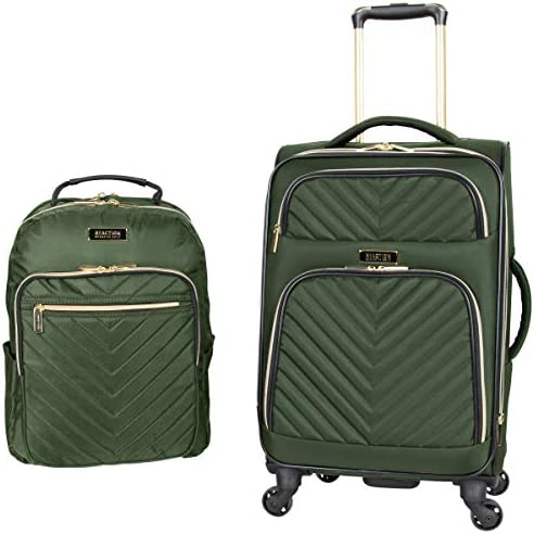 Kenneth Cole Reaction Women s Chelsea 2 Piece 20 Expandable 4 Wheel Carry On Suitcase Matching product image