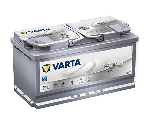 G14 Varta Bateria de coche de 95Ah 12V Bateria de vehiculo