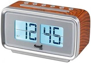 Radio reloj despertador Sami nature RS-1010 madera