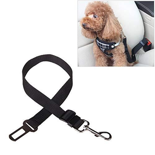 Tuzi Qiuge Leine Nylon Kabelbaum Leine Clip Pet Hund Auto Sicherheitsgurt Sicherheitsgurt (Color : Black)