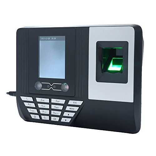 Best Bargain Face Fingerprint Password Recognition Mix Biometric Time Clock,2.8 Inch TFT LCD Screen ...