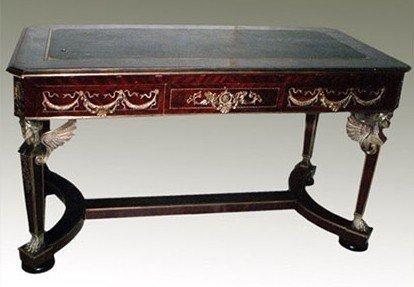 LouisXV Barocco scrivania Stile Antico Bureau Plat mosr0207