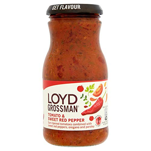 Loyd Grossman Tomato and Red Pepper Sauce, 350 g