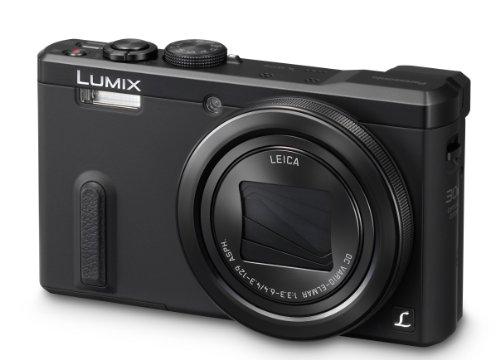 Panasonic LUMIX DMC-TZ61EG-K Travellerzoom Kamera (18,1 Megapixel, LEICA DC Weitwinkel-Objektiv mit 30x opt. Zoom, 3-Zoll LCD-Display, Full HD) schwarz