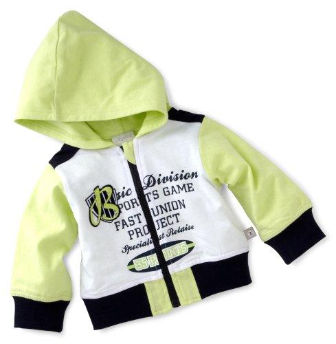 Liegelind Baby - Jungen (0 - 24 Monate) Jacke 21121, Gr. 62, weiß