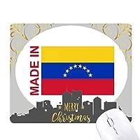 ベネズエラの国の愛で クリスマスイブのゴムマウスパッド