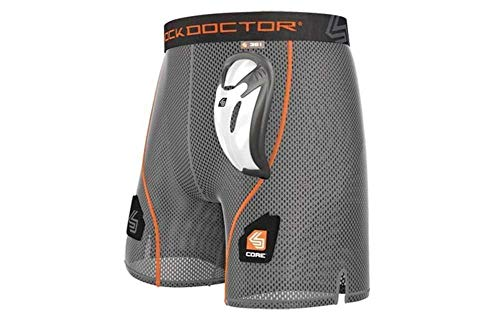 Shock Doctor Core Loose Hockey Short Supporter w/BioFlex Cup Included, Adult & Youth Sizes