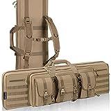 HUNTSEN Rifle Bag Soft 36inch Double Gun Case for Rifles and Handguns Carrying Case for Hunting Shooting Range