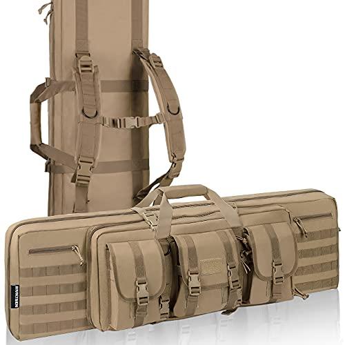 HUNTSEN Rifle Bag Soft Backpack Gun Case for Rifles and...