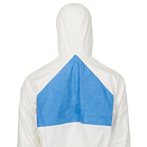 3M Schutzanzug 4540+L, Typ 5/6 Größe L, weiß / blau