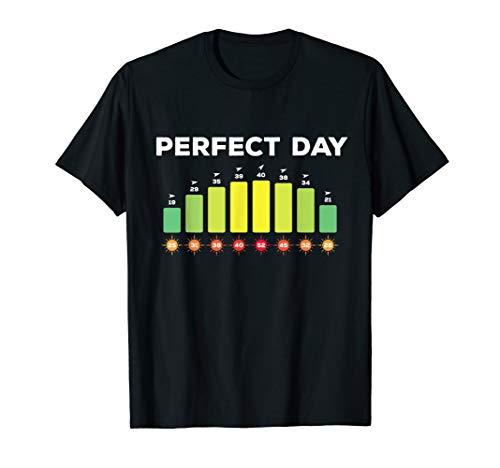 Surfing Wind - Perfect Wind Summer Windsurfing Kitesurfing T-Shirt