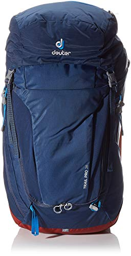 Deuter Unisex-Adult Trail Pro 36 Rucksack, Midnight-Lava, 66 x 32 x 22 cm, 36 L