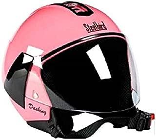 Steelbird Sb33 Eve Dashing Open Face Helmet (Pink)