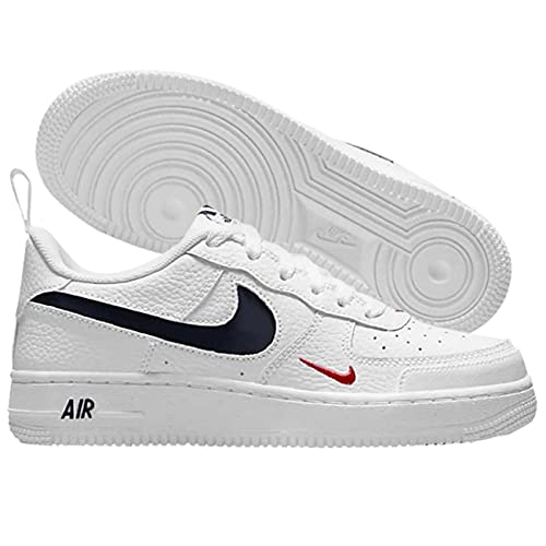 Nike Air Force 1 Low GS Patriots DM3211-100, bianco, 36 EU