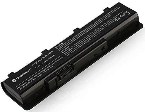 Globalsmart Batería para portátil Alta Capacidad para ASUS N55S 6 Celdas Negro