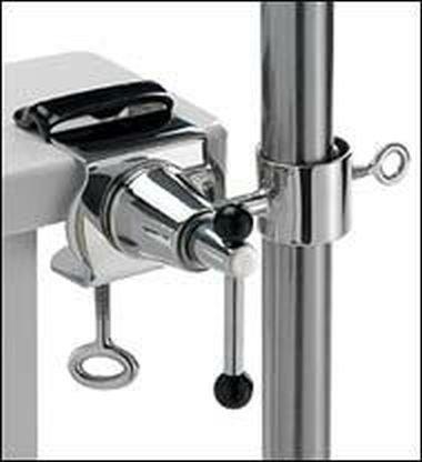 Bâtons de parasol jusqu'à ø 50 mm-support en acier inoxydable de jusqu'à 40 mm diamètre pour installation d'extérieur ou à l'intérieur 11 cm de distance de parapluie-holly breveté pour fixation rond ou carré éléments à 40 mm en acier inoxydable avec support pivotant à 360° kratzfreien gUMMISCHUTZKAPPEN de fixation avec pivotante à 360°-espacement plots support pour bâtons de parasol jusqu'à ø 50 mm avec douille de 13 cm et profond de enregistrement : 11 bec de hauteur cm de long-filetage-innovation axe-fabriqué en allemagne-holly ® sTABIELO-produits holly-sunshade ® sCHIRMEN à sur - 2,5 cm de diamètre - 2 supports et 2–te à utiliser pour des raisons de sécurité (kabelbinder)