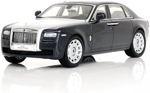 Original Kyosho 1 43 Rolls-Royce Ghost Extended Wheelbase sunroof with dark tungsten   Silber hood (japan import)