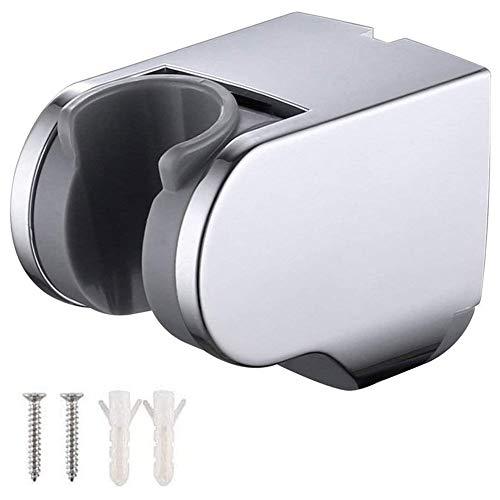 JINXM Duschkopfhalterung,Verstellbar Halterung Handbrause Duschkopf Wandhalterung Chrom Universal Brausehalter für Badezimmer