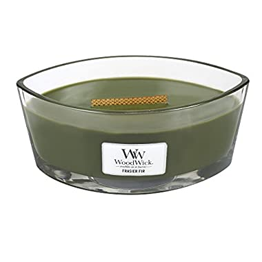Frasier Fir HearthWick Flame Large Scented Candle by WoodWick