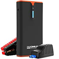 Gooloo GP1500B 1500A Peak SuperSafe Car Jump Starter with USB Type-C 18W PD Phone Charger