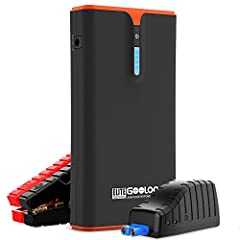 POWERFUL LIFE SAVER: : With 1500 amps peak current, the GOOLOO GP1500B can jump start 12V vehicles, motorcycles, watercrafts, ATVs, UTVs, lawn mowers, snowmobiles up to 20 times on a full charge (charging takes 5 hours). POWER DELIVERY 18W HIGH-SPEED...