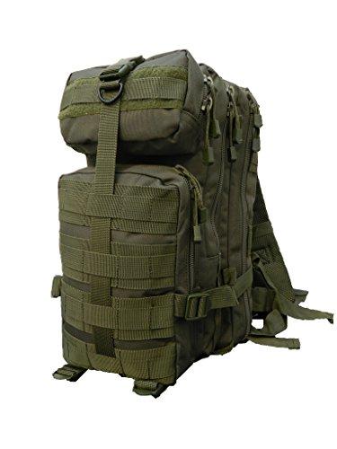 ALGI Zaino Militare Impermeabile Tattico Small 30 Litri Verde